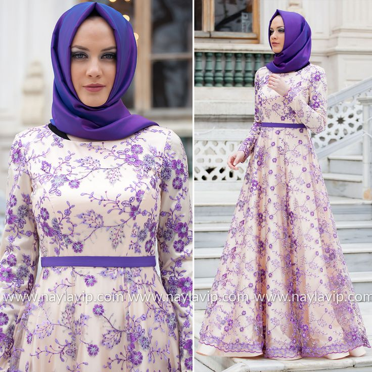 EVENING DRESS - EVENING DRESS - 4264MOR #hijab #naylavip #hijabi #hijabfashion #hijabstyle #hijabpress #muslimabaya #islamiccoat #scarf #fashion #turkishdress #clothing #eveningdresses #dailydresses #tunic #vest #skirt #hijabtrends