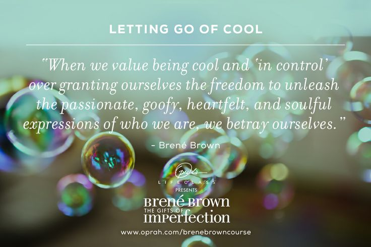 Let's stop betraying ourselves and encourage ourselves and our loved ones to be authentic and true to themselves.