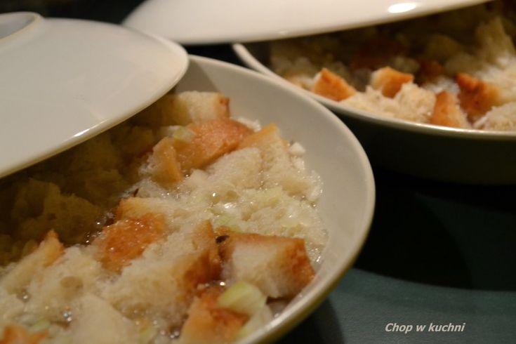 Wodziōnka abo brōłtzupa (Śląska zupa chlebowa) - Chop w kuchni