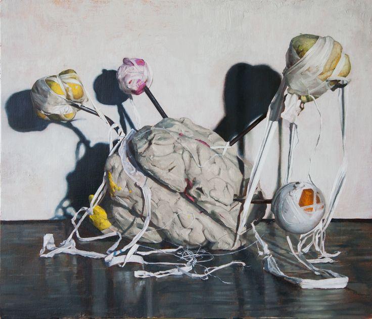 JONNY GREEN - Petit – Mal – Oil on linen on panel – 51 x 71 cm