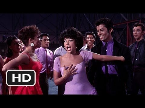 2014's Pantone colors come alive in 1961's West Side Story  |  Radiant Orchid Dress ... lovely