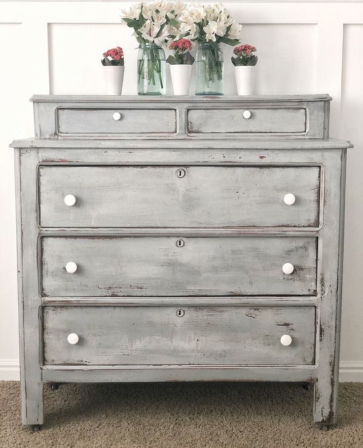 French Country Dresser By Jamirayvintage Grey Bedroom Furniture Distressed Bedroom Furniture Gray Distressed Furniture