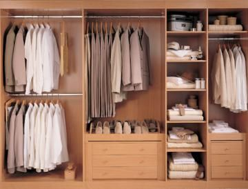 1000 images about wardrobe internals on pinterest for Different types of wardrobe designs
