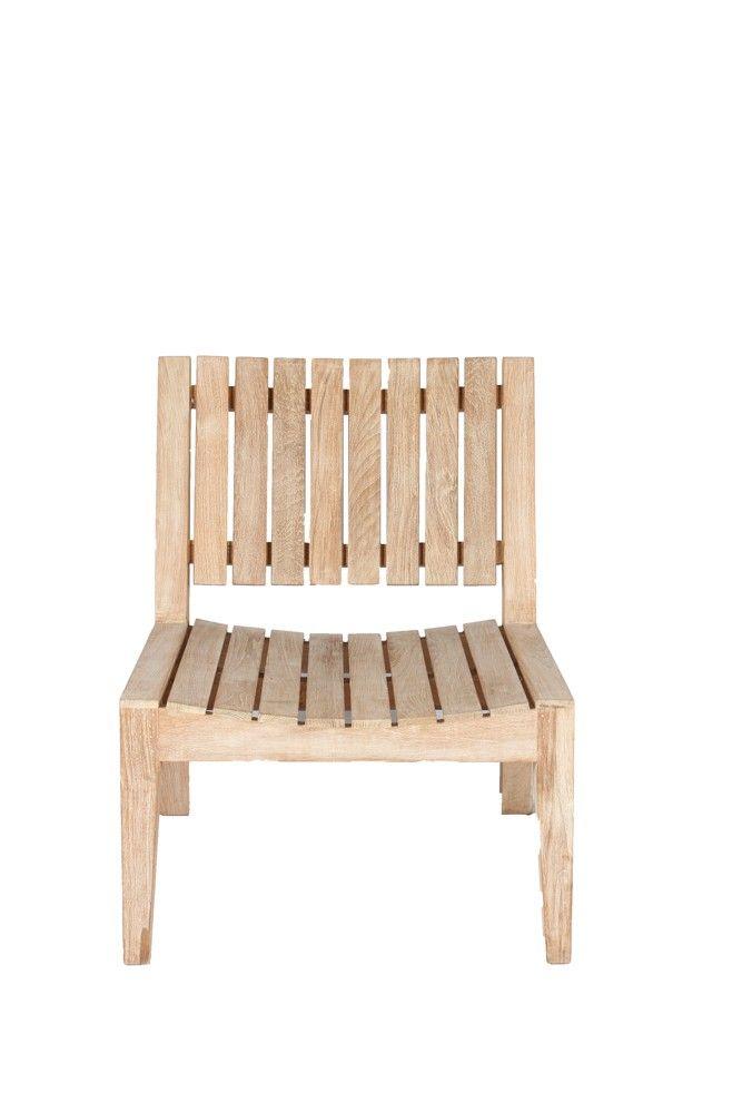 Komodo Wooden Patio Chair (ICHA 15)