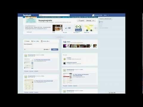 Crear Fan Page Facebook - Video de Ejemplos de Fan Page Facebook