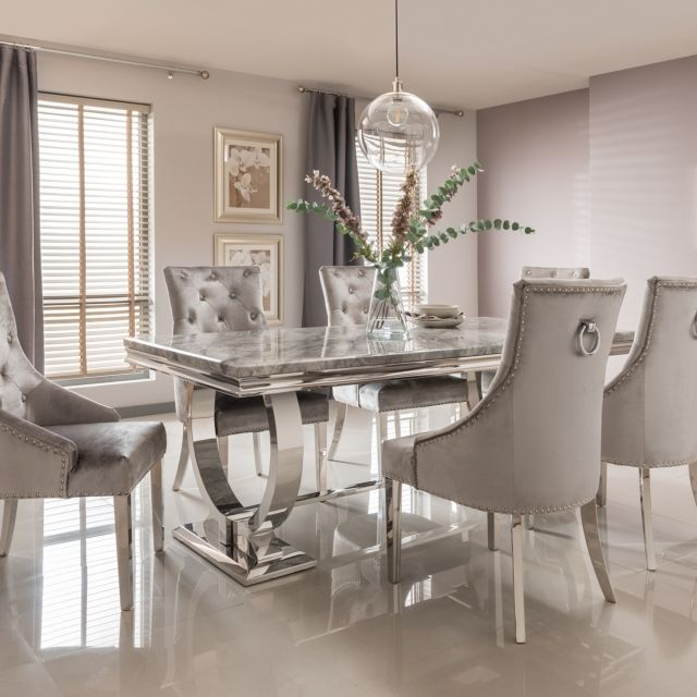 32+ Grey dining table and chairs Inspiration