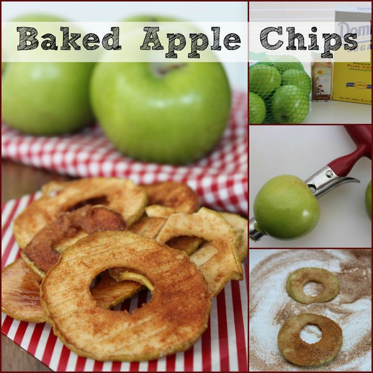 Mom's Baked Apple Slices Recipe — Dishmaps