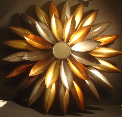 1000 images about metal wall art and sculpture on for 3d flowers for wall decoration
