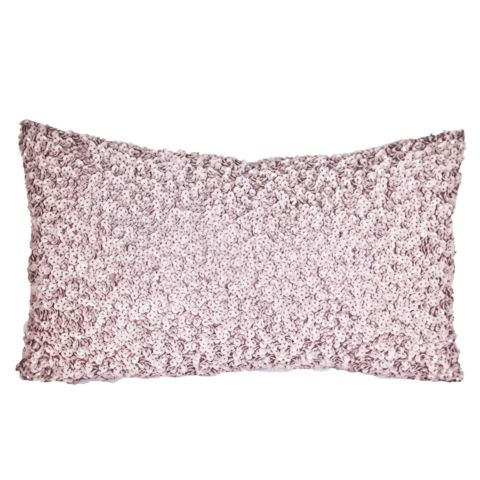 SEQUIN palepink cushion <3 www.ByMalou.no