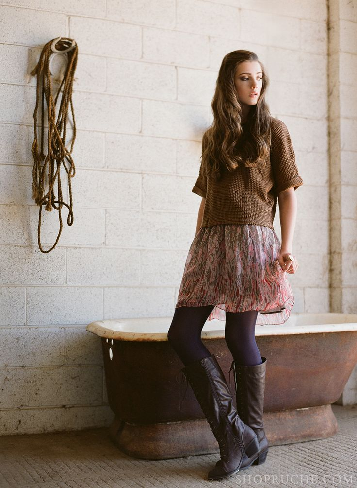 A cozy outfit for Fall. #equestrian #shopruche #ruche