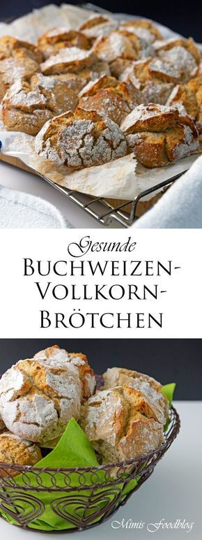 Buchweizen-Vollkorn Brötchen sind knusprige und rustikale Brötchen zum Frühstück, zur Brotzeit oder als Beilage zu Suppen und Eintöpfen. Die Buchweizen-Vollkorn Brötchen sind schnell und leicht gemacht, sollten jedoch ca. 12 Stunden ruhen, dann gehen sie im Backofen wunderbar auf und bilden diese rustikalen Risse in der knackigen Kruste. Ich backe sehr gerne mit Buchweizenmehl. Es ist …