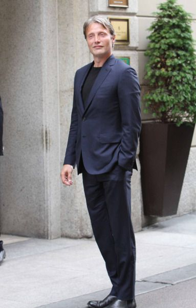 Mads Mikkelsen in Milan (June 22, 2015)