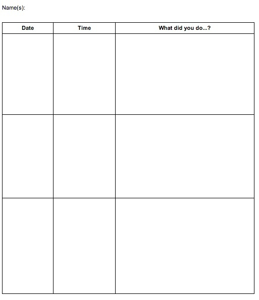17 Best images about Genius Hour on Pinterest The end, Kid and - project log template