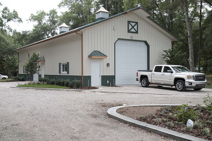Morton buildings garage in yulee florida hobby garages for Morton garages