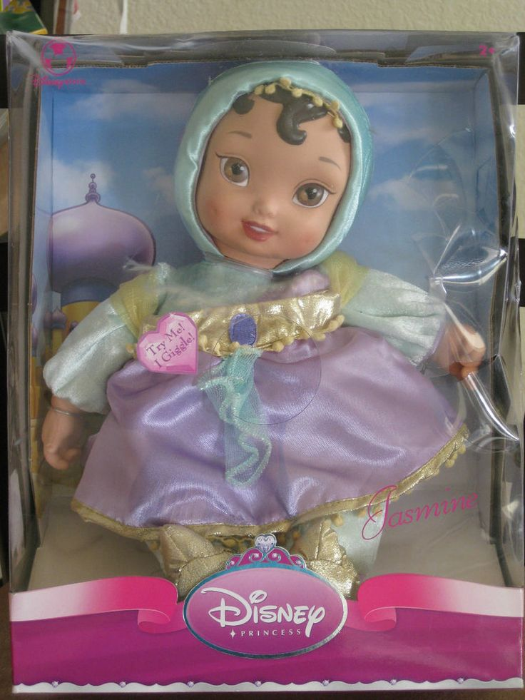 Disney Princess Jasmine Doll 12in Toys And Games