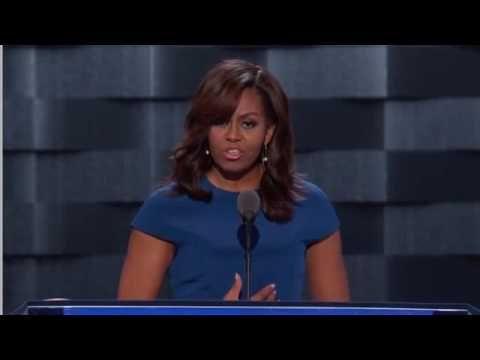 Michelle obamas speech analysis