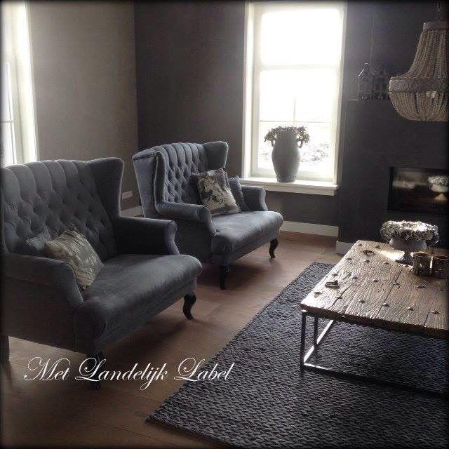 25 beste idee n over fauteuil landelijk op pinterest rustiek huisje fauteuil stoer en - Deco eigentijds chalet ...