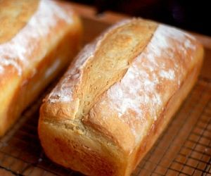 Easy home made bread, with a secret ingredient. Best bread I've ever had!