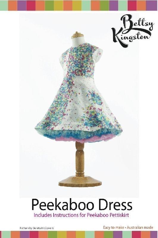 Naaipatronen : Peekaboo jurk. Prachtige feestjurk!