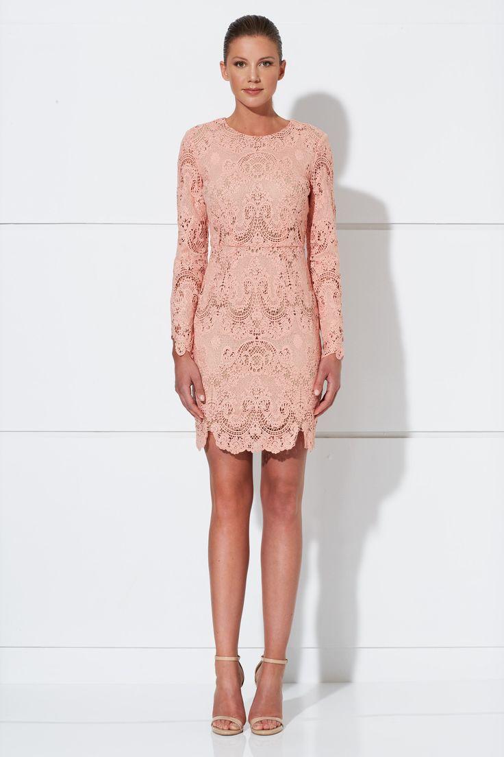 Winona - Harper Short Dress - Pink