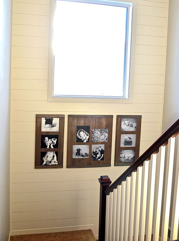 Hardboard Trim Window ~ Plank wall the hatched home decided to go with eucaboard