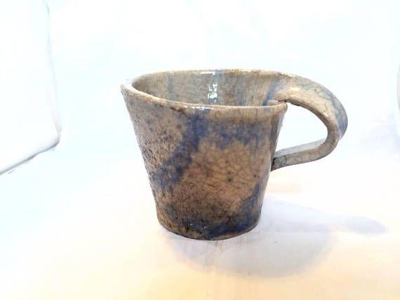 Check out this item in my Etsy shop https://www.etsy.com/listing/569925176/raku-pottery-mug