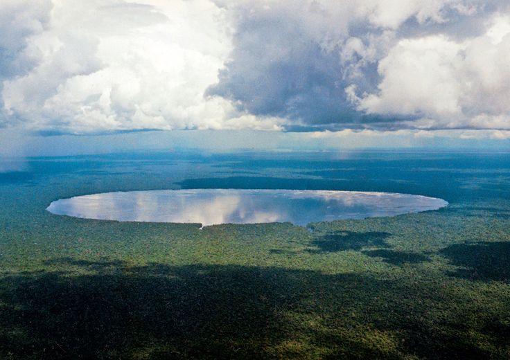 Mysterious Lake Tele, Republic of the Congo