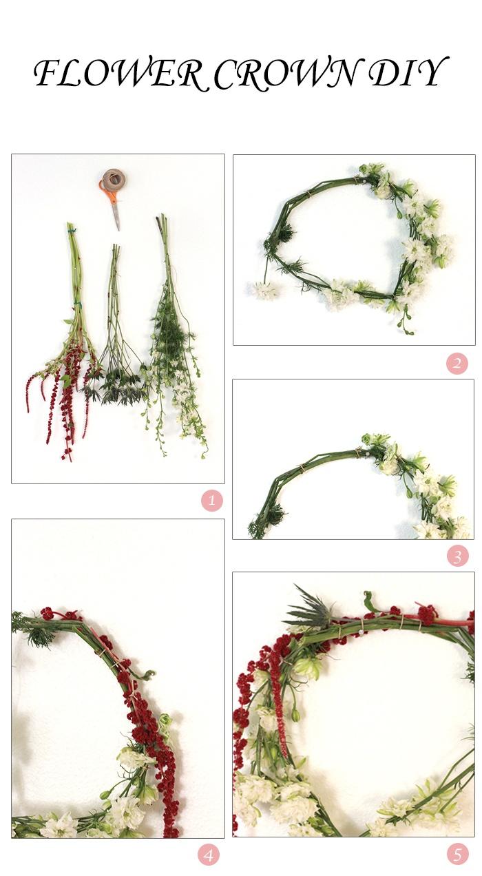 flower crowns for the flower girls