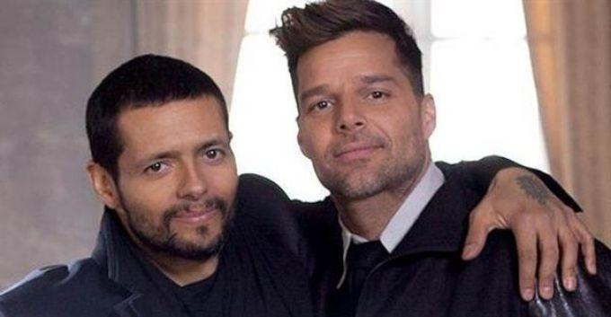 Draco Rosa y Ricky Martin juntos en la filmación del video 'Más y Más' (+Video)