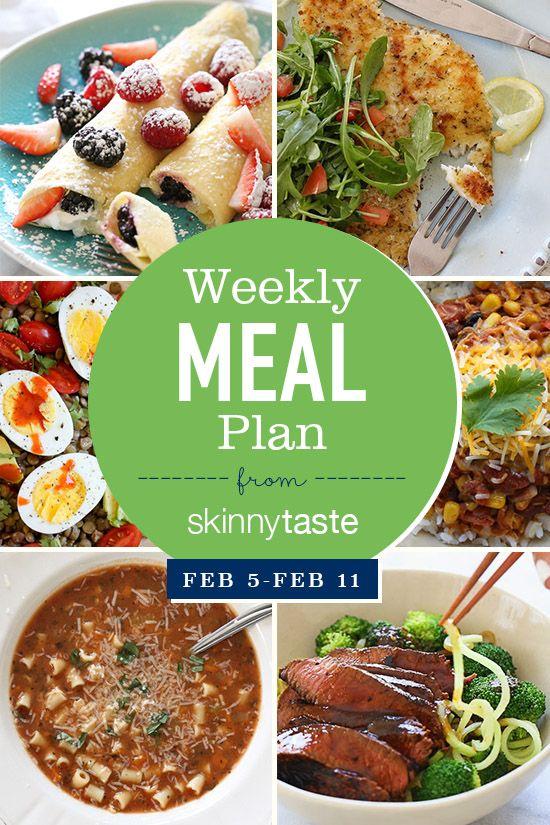 Skinnytaste Meal Plan (February 5-February 11)
