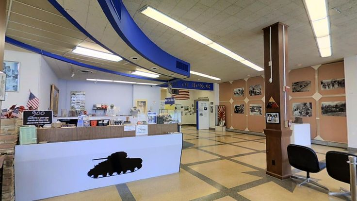 12th Armored Division Museum 3D Showcase. http://www.t47productions.com/blog/2016/2/21/12th-armored-museum-adopts-3d-virtual-tours-to-boost