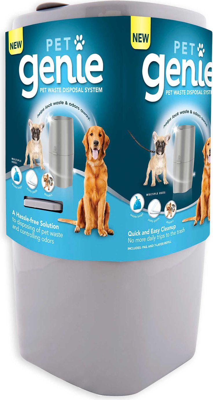 Pet Genie Waste Disposal System