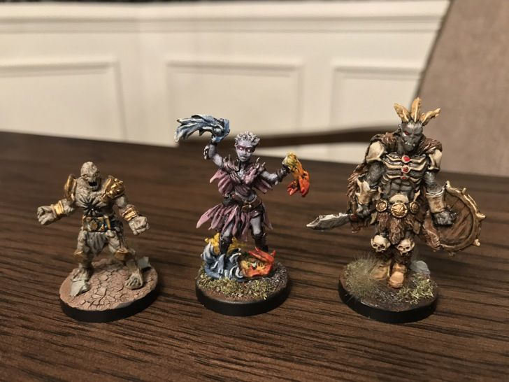 Gloomhaven minis painted and based - Album on Imgur