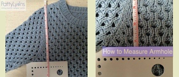 Tuesday Tip - How to measure armhole depth