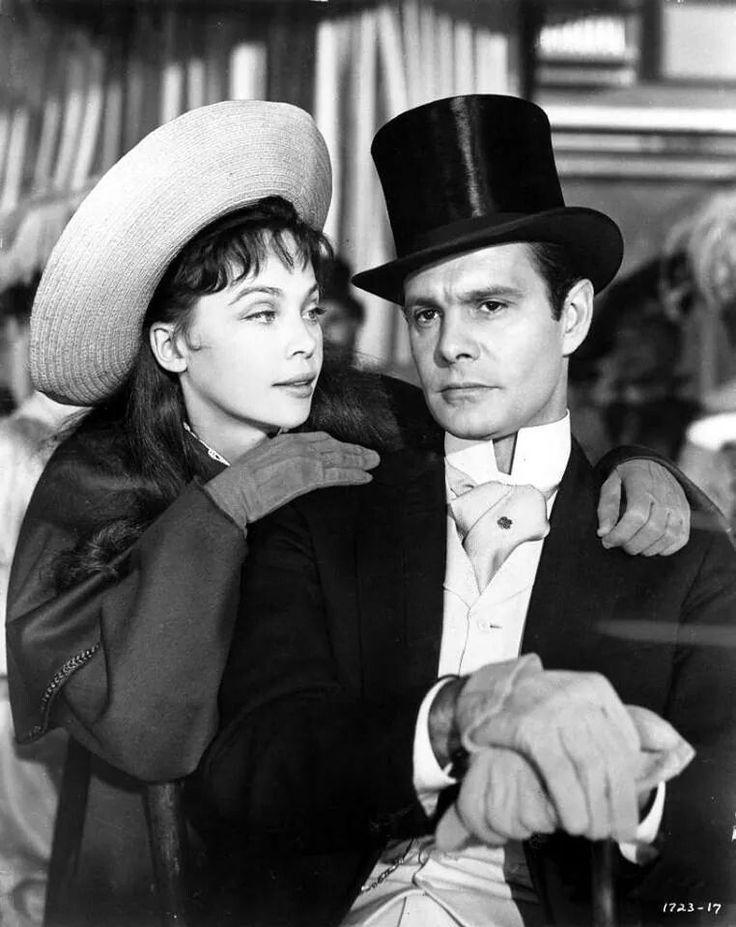 Leslie caron and louis jourdan in gigi 1958 gigi movie