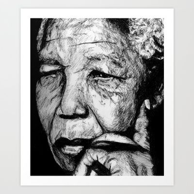 Mandela print $20.00 Free Worldwide Shipping Available Today!