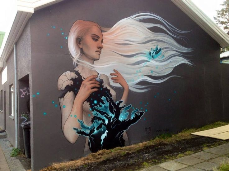 The Dreamer LDN — Heather McLean for Wall Poetry Reykjavík, Iceland...