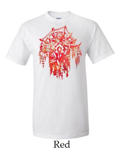 Horde Crest World of Warcraft Mens T-shirt