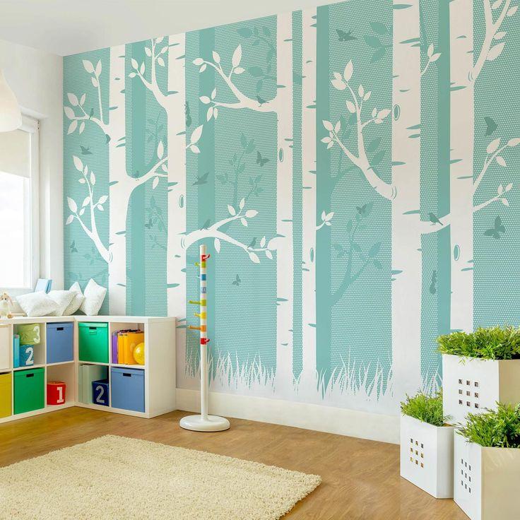 Die besten 25+ Fototapete holz Ideen auf Pinterest Wandtapete - wohnzimmer tapete blau
