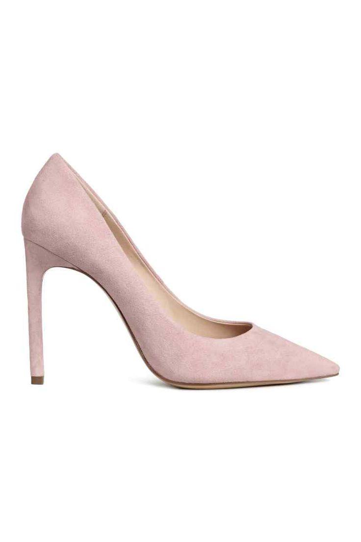 Court shoes - Powder pink - Ladies | H&M GB 1