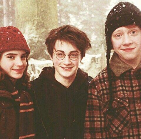 Hermione, Harry e Rony