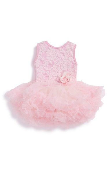 Popatu Lace Tulle Dress (Baby Girls) available at #Nordstrom