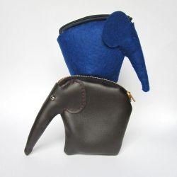 Make a beautiful elephant purse. All the steps and free pattern!