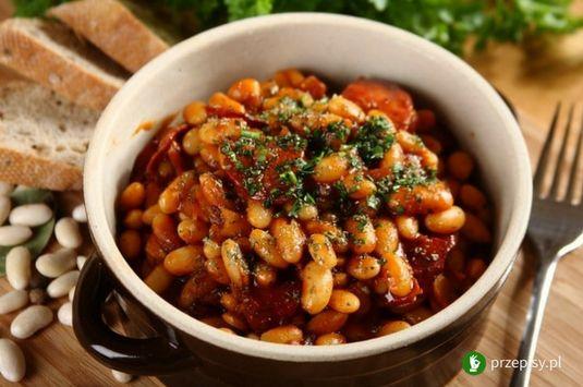 Pikantna fasolka z chorizo #chorizo #bean #cooking