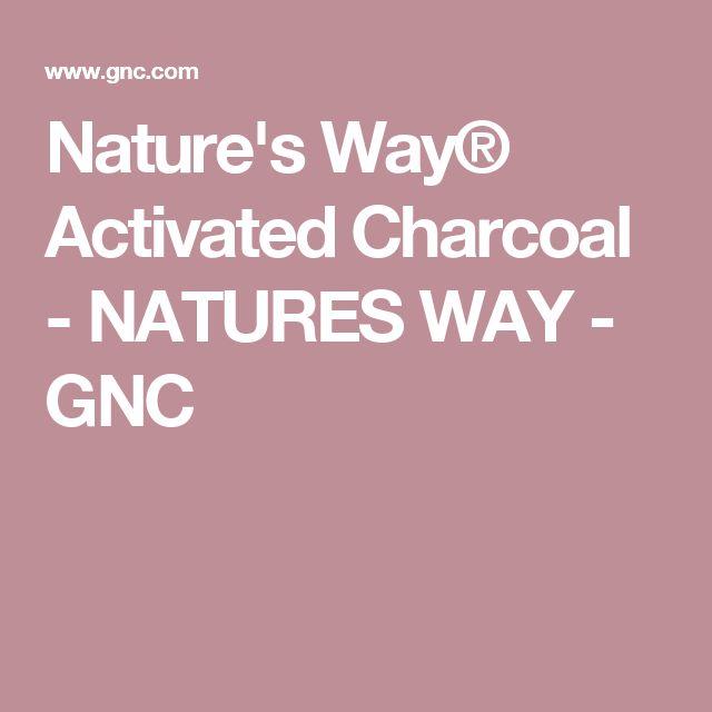 Nature's Way® Activated Charcoal - NATURES WAY - GNC