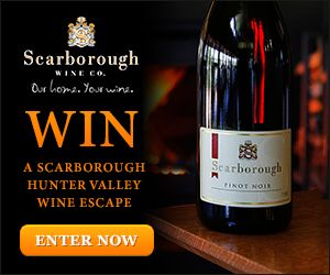 It's easy - just purchase a case of wine online at http://www.scarboroughwine.com.au/Win-the-ultimate-Hunter-Valley-Weekend-Escape