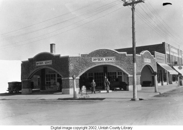 Cobblerock Service Station, Vernal, Utah Service station