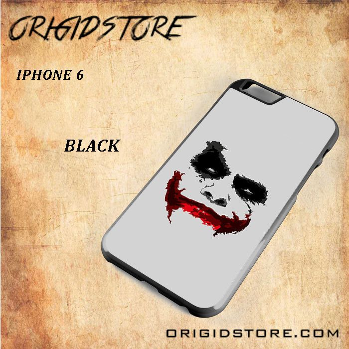 JOKER Snap on 2D Black and White Or 3D Suitable With Image For Iphone 6 Case