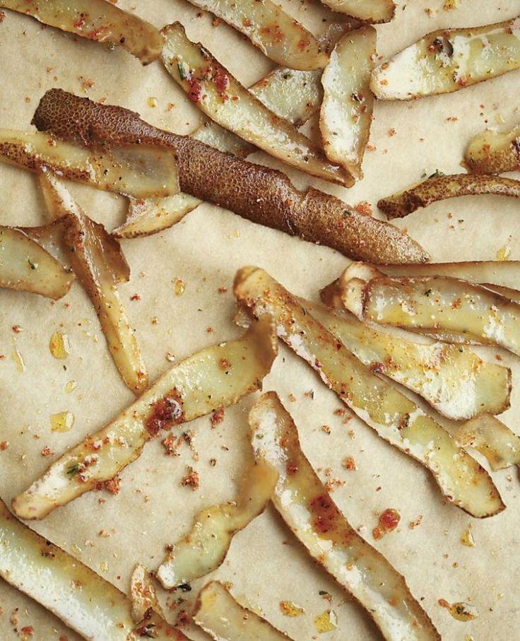 Potato Skin Chips Photo: Clay McLachlan