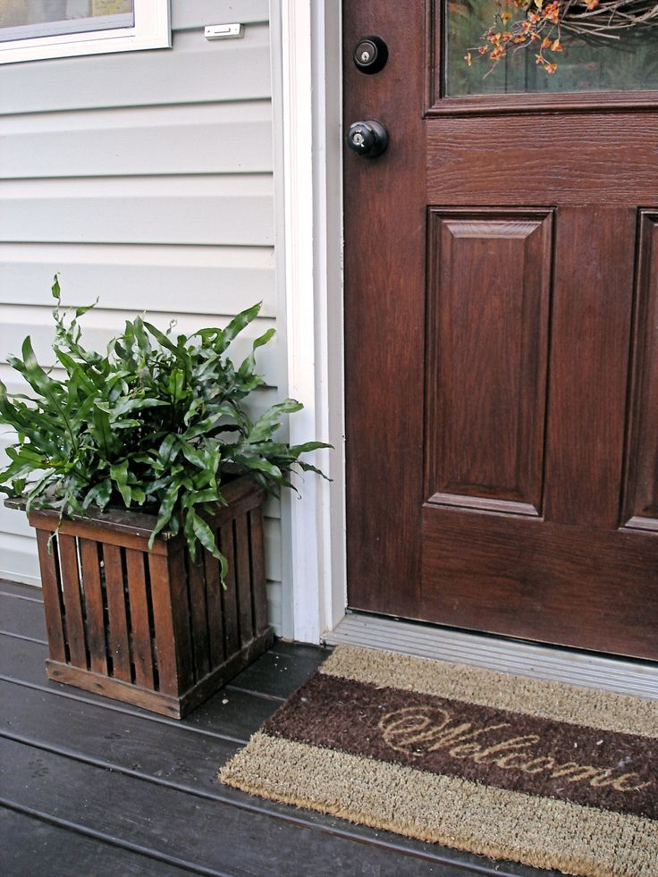 60 best decorating ideas images on pinterest my house for Stained front porch